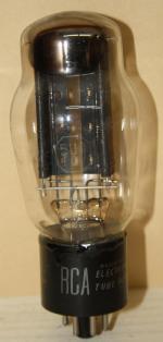 Röhre aus einem Paillard Radio Modell 418E anstelle der dort gelisteten Gleichrichterröhre 5T4G.
