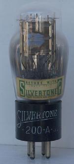 Silvertone 200-A Triode