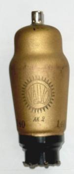 Markings on tube: VALVO AK 2, 140, RLM Eigentum, W.a.A.58?, 'Reichsadler'