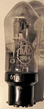 Telefunken VY2 mit Abstempelung BAL1964 und Stempel Wehrmacht 38 / 43.