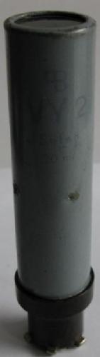 Ersatzröhre für VY 2,  Aufdruck: cB , VY2,  Selen,  30mA