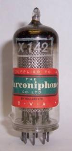 X142 MARCONI UK, MADE BY MULLARD FOR MARCONIPHONE
