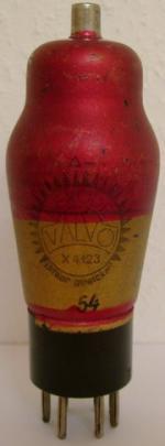Valvo X4123 , wurde teils Rot beschichtet