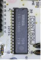 In Tuner Yamaha TX-400 reads IC104 as LC6523C-779, but soldered on the pcb appear Yamaha IG-15800 as IC104, so, I think are equivalents. Look at foto with chip on the pcb.