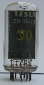 Tesla ZM1043S mit den Zeichen U,Y,W,X,Z,