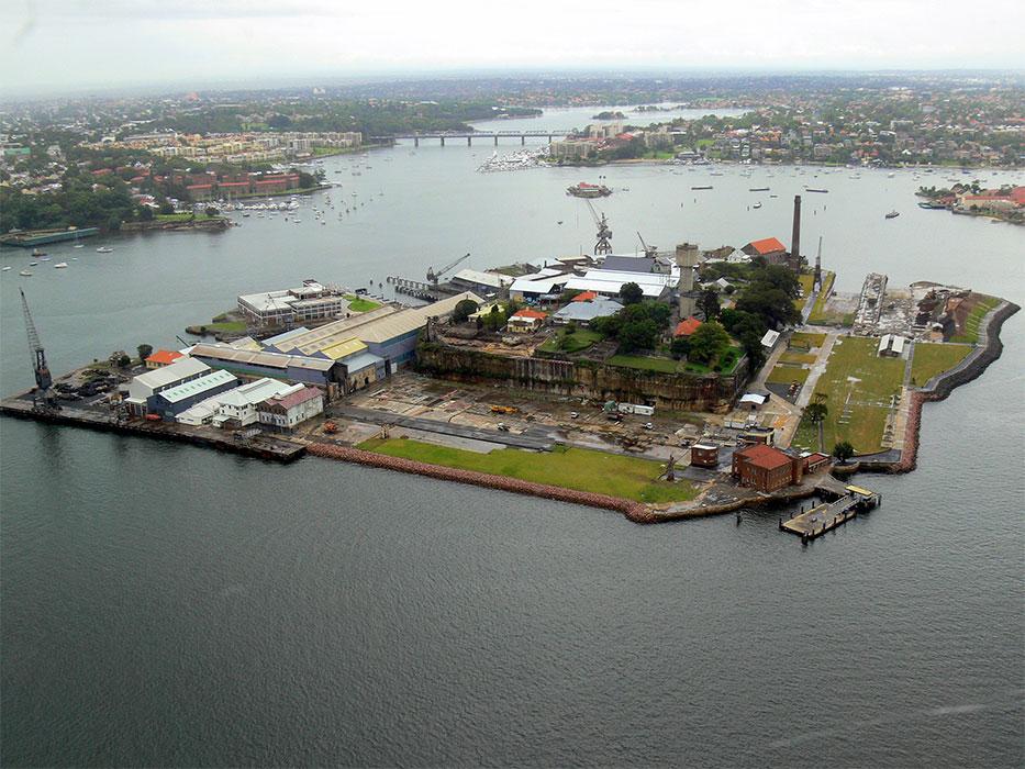 Cockatoo Island Museum Finder Guide Radio Technical Mu