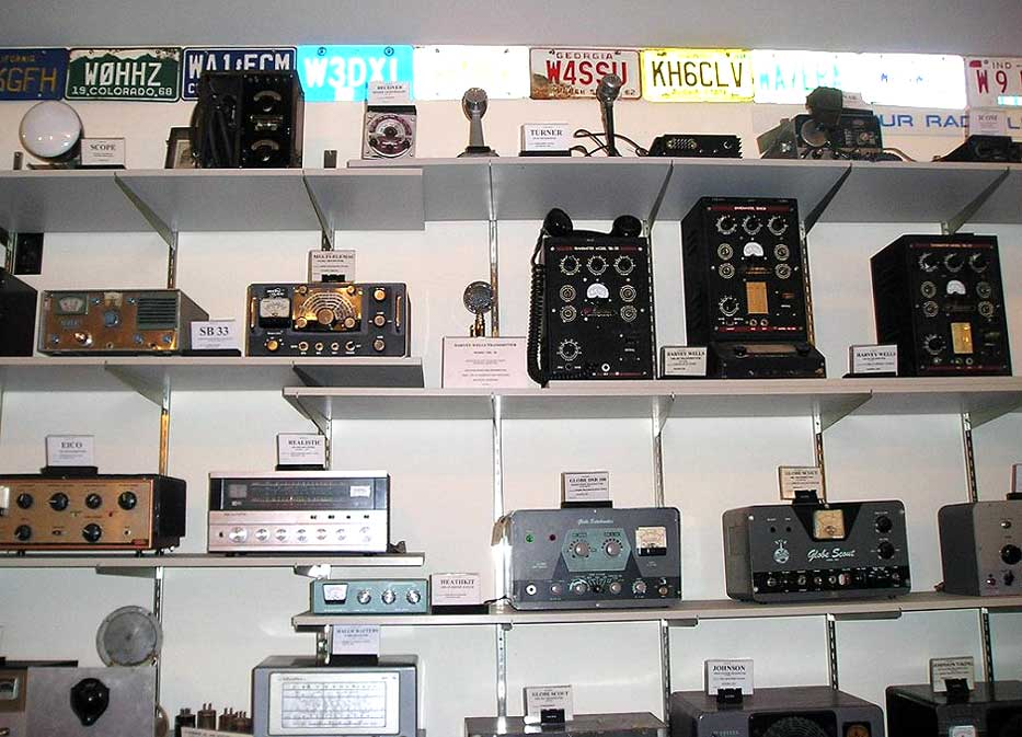 Amateur transceiver museum