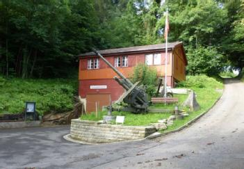 Switzerland: Festungsmuseum Heldsberg in 9430 St. Margrethen