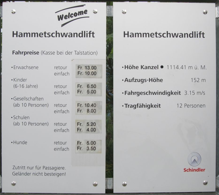 how to get to hammetschwand lift