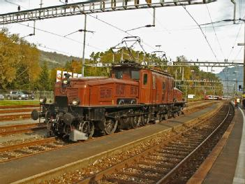 Switzerland: SBB Historic - Team Erstfeld in 6472 Erstfeld