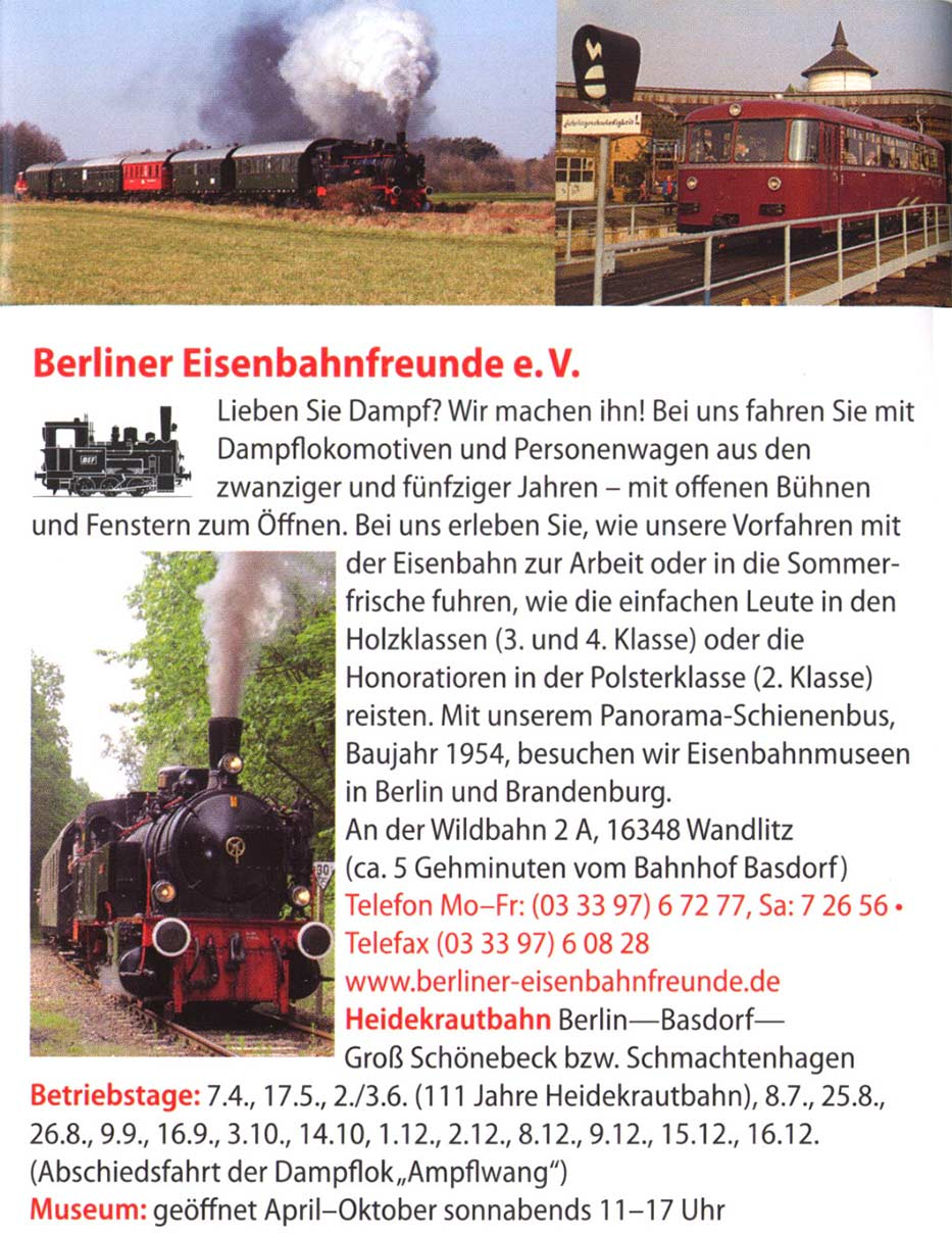 heidekrautbahn museum museum finder guide radio techni. Black Bedroom Furniture Sets. Home Design Ideas