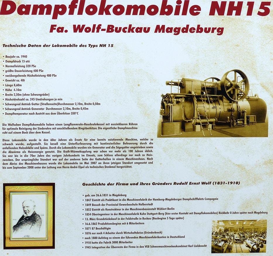 Historische Lokomobile :: Museum Finder, Guide, Radio, techn