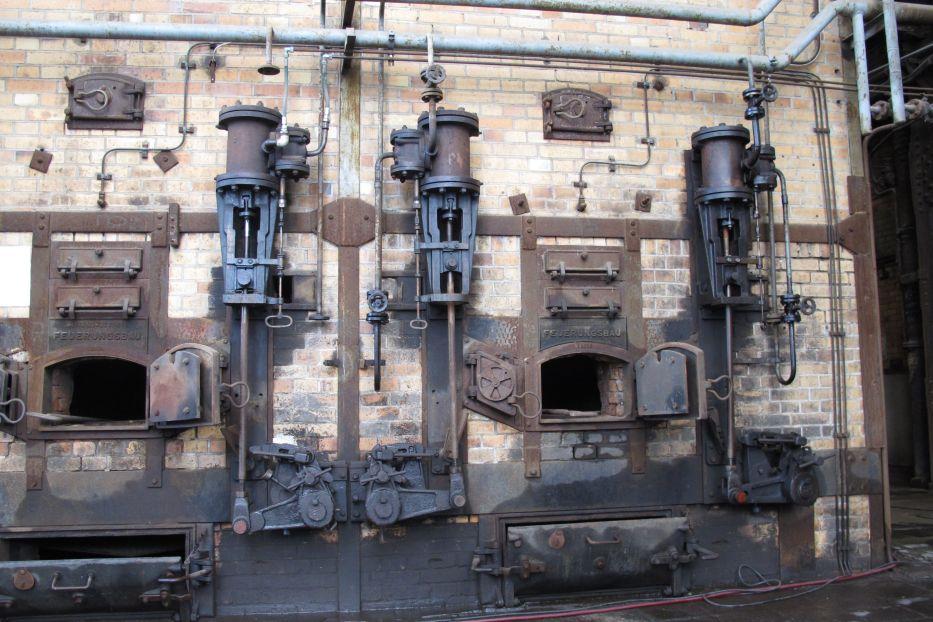 Industrie Denkmal und Industrie Museum Kraftwerk Plessa :: M