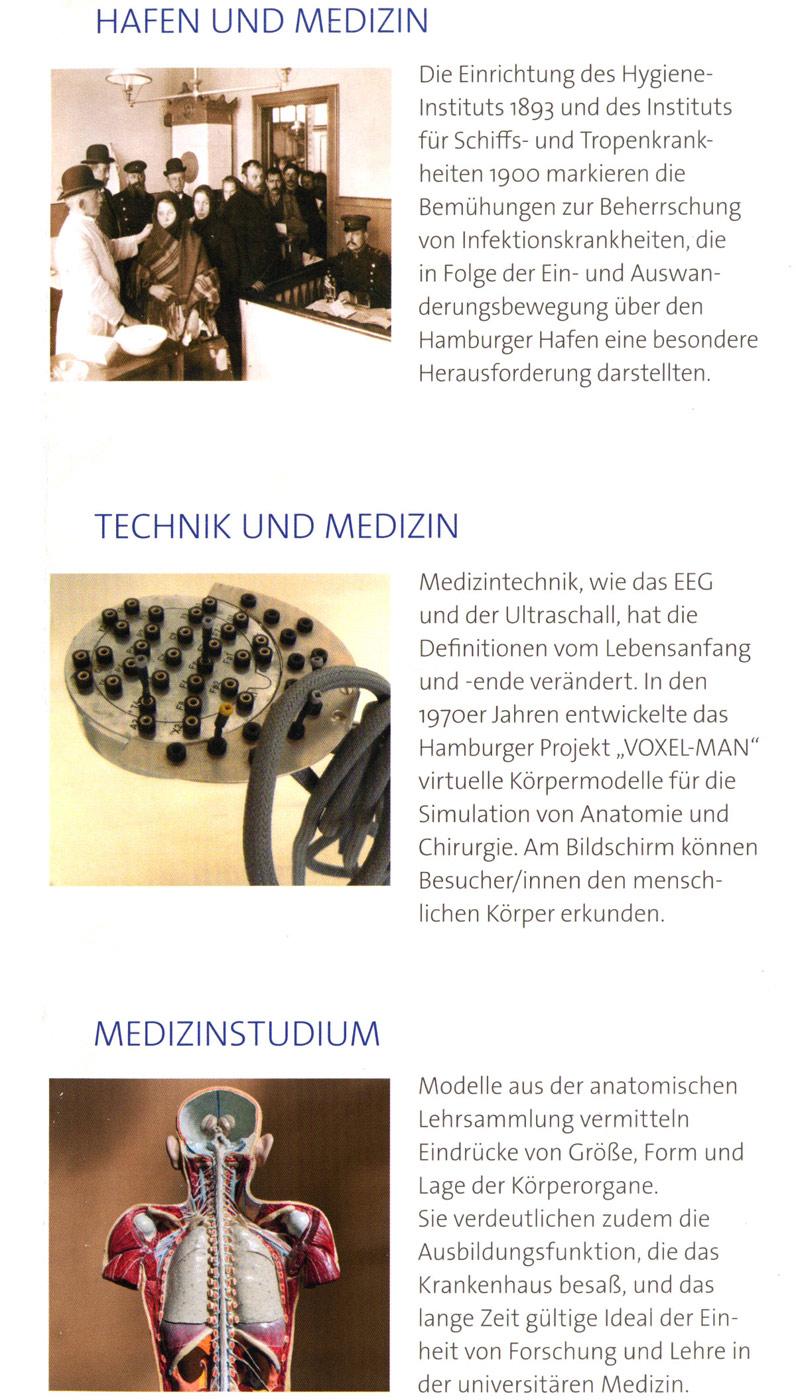 Medizinhistorisches Museum Hamburg :: Museum Finder, Guide,