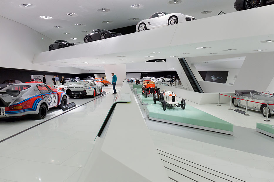Porsche Museum Museum Finder Guide Radio Technical Mus
