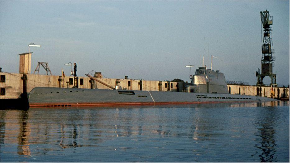 U Boot Wilhelm Bauer ehemals U2540 Typ XXI 21 :: Museum Find