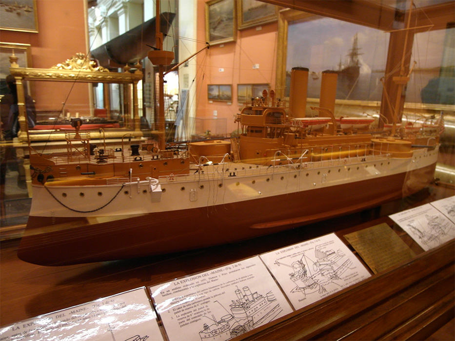 Museo Naval de Madrid :: Museum Finder, Guide, Radio, techni