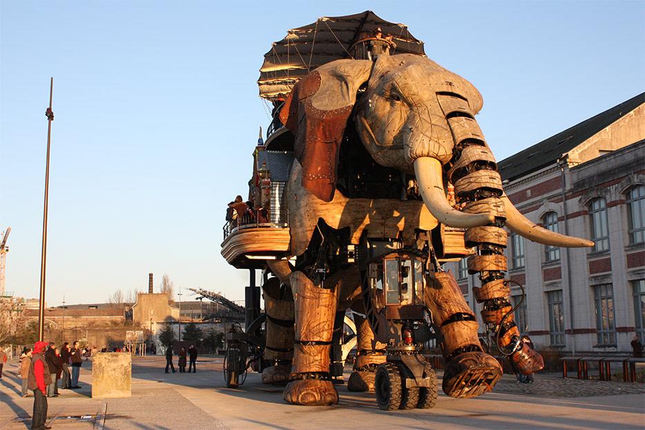 Les Machines de l ile Parc des Chantiers Museum Finder G