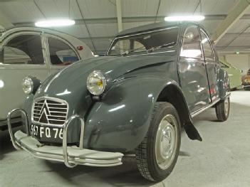 France: Musée des Citroën - Citromuseum in 04120 Castellane