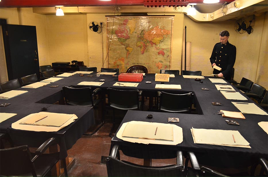 Churchill war rooms part of imperial war museum museum fi - Churchill war cabinet rooms ...