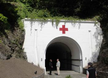 Great Britain (UK): Jersey War Tunnels - Hohlgangsanlage 8 in JE3 1FU St Lawrence