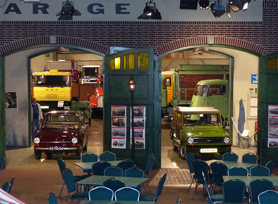Daf museum museum finder guide radio technical museums for Garage daf tours