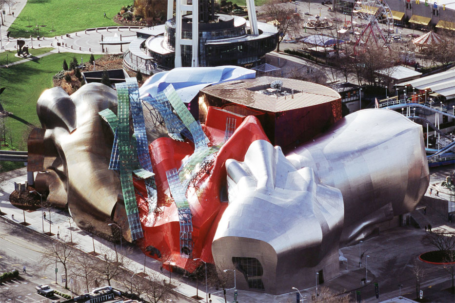 Lovely United States Of America (USA): EMP Museum   Experience Music Project And  Science Nice Design