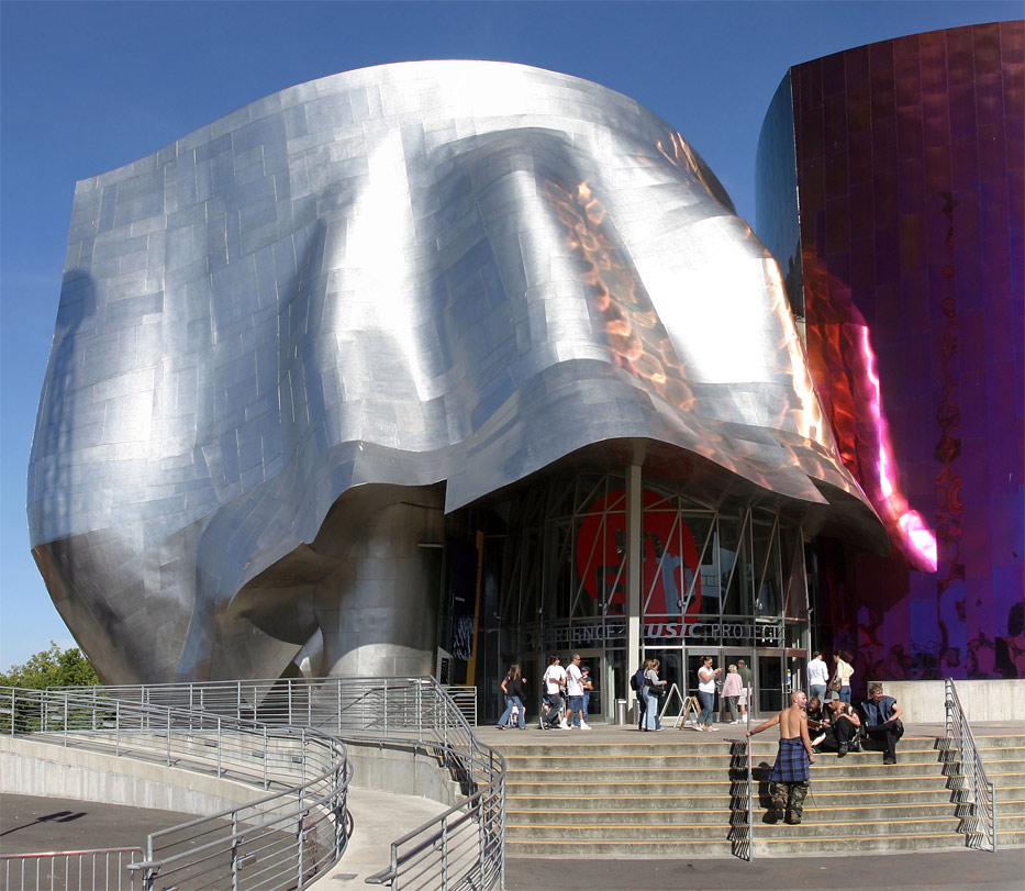 Foyer Museum Usa : Emp museum experience music project and science fiction muse