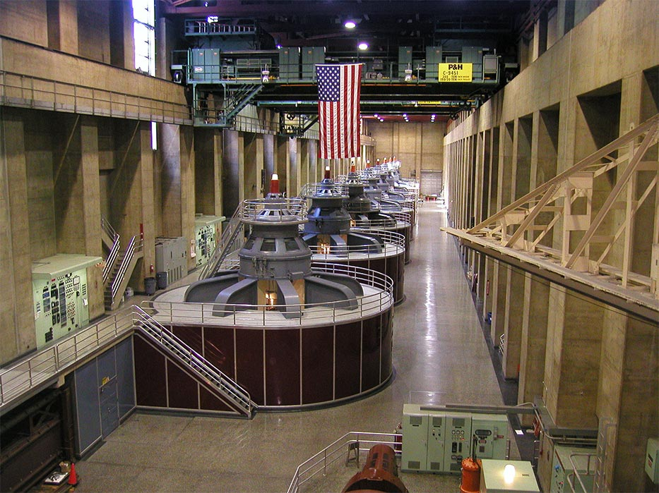 Hoover Dam Interior Tour