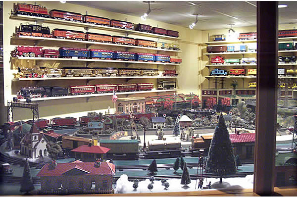 Strasburg (PA) United States  city photos gallery : United States of America USA : National Toy Train Museum in 17572 ...