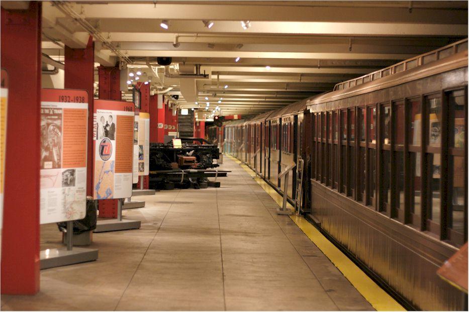 New York Transit Museum Mta Museum Finder Guide Radio