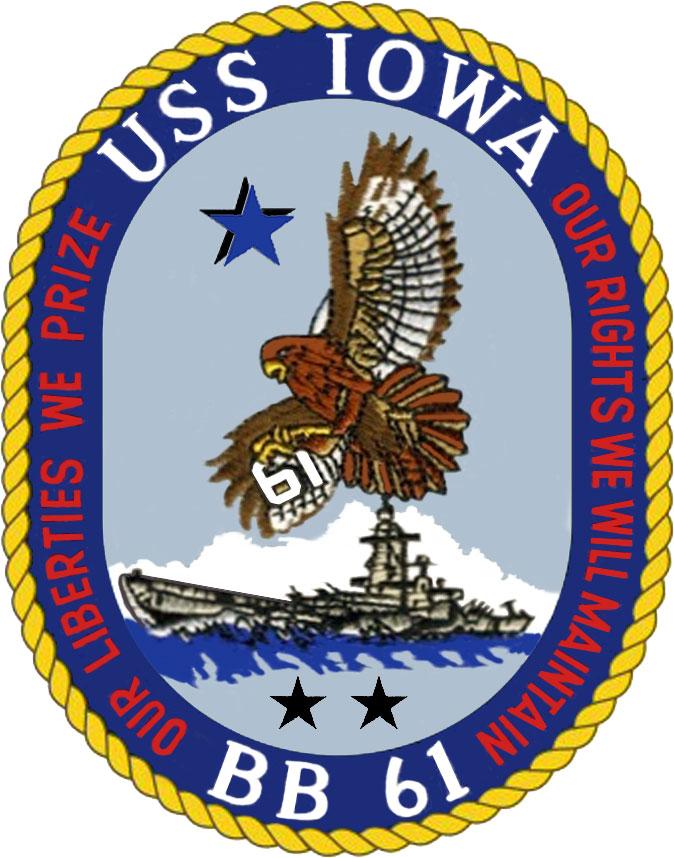 Pacific Battleship Center USS IOWA BB 61 :: Museum Finder, G
