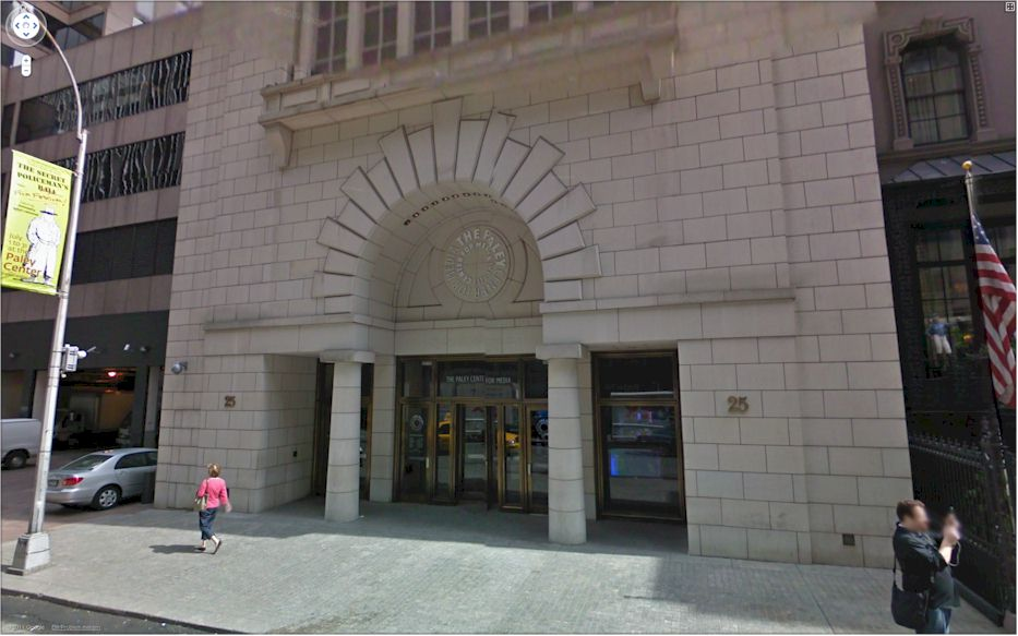 Paley Center For Media New York Museum Finder Guide Rad