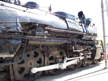 United States of America (USA): Rail Giants Museum - Fairplex railway exhibit in 91768 Pomona