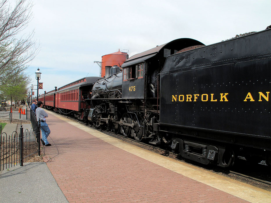 Strasburg (PA) United States  city photos gallery : United States of America USA : Railroad Museum of Pennsylvania in ...