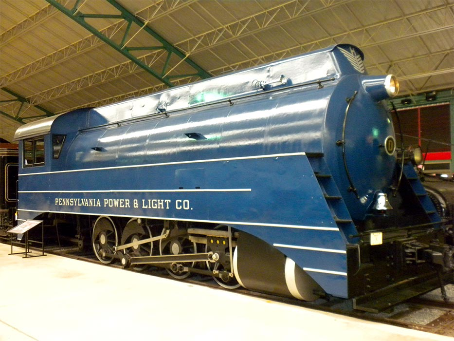 Strasburg (PA) United States  city images : United States of America USA : Railroad Museum of Pennsylvania in ...
