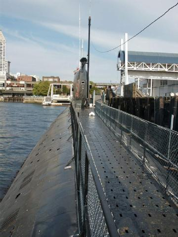 United States of America (USA): Russian Submarine - Seattle Pier 48 in 98104 Seattle