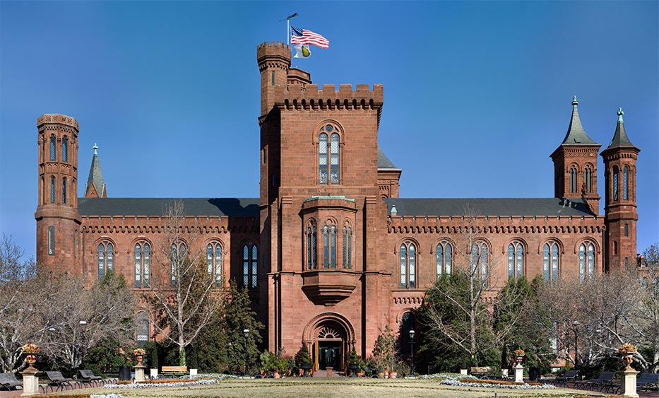Smithsonian museum and research complex :: Museum Finder, Gu