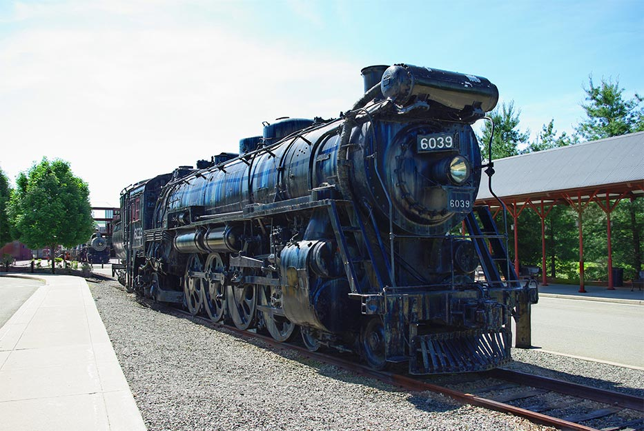 Scranton (PA) United States  city photo : United States of America USA : Steamtown National Historic Site in ...